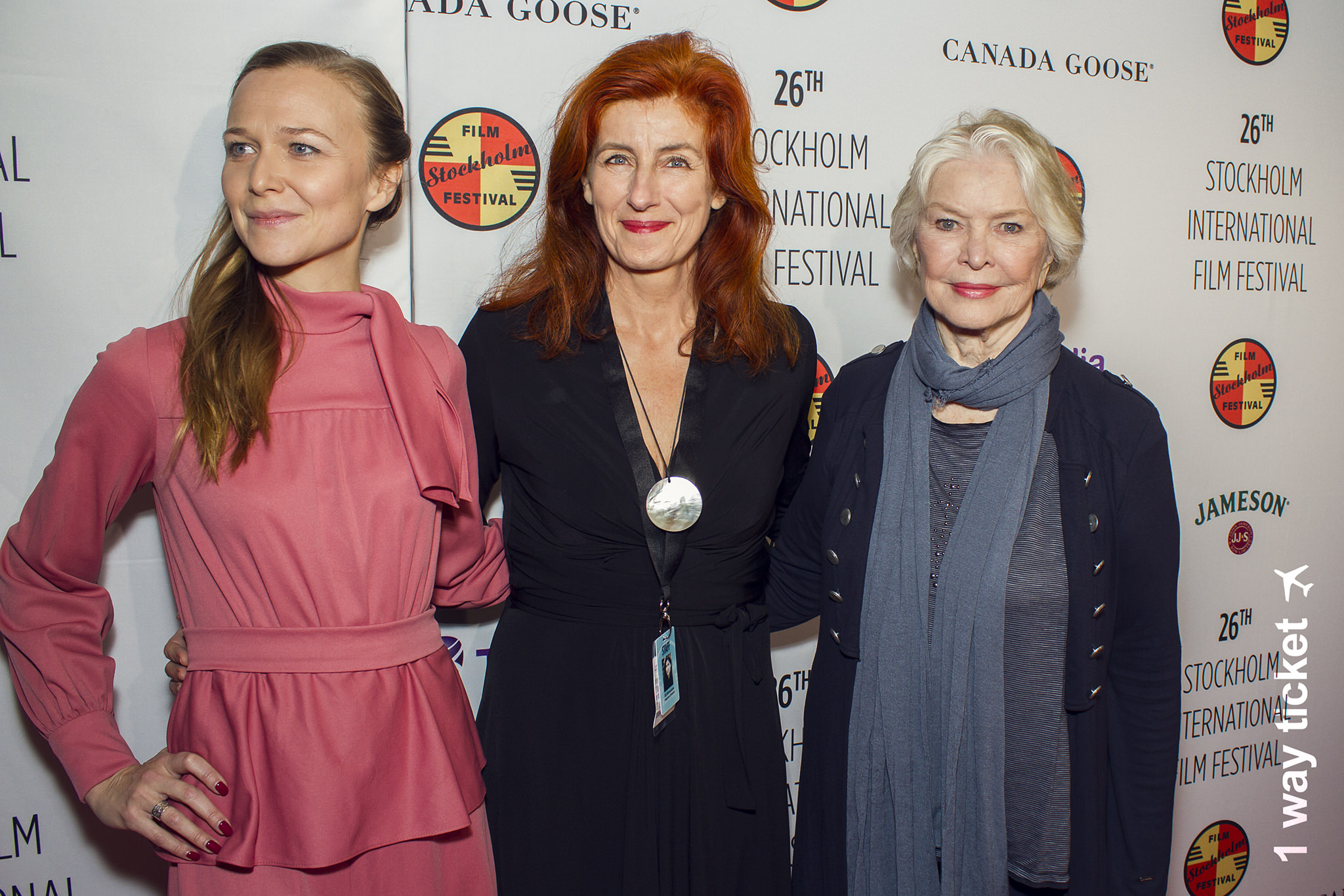 Git Scheynius with Ellen Burstyn who received the Life Time Achievement Award at the 26th Stockholm InternationalFilm Festival