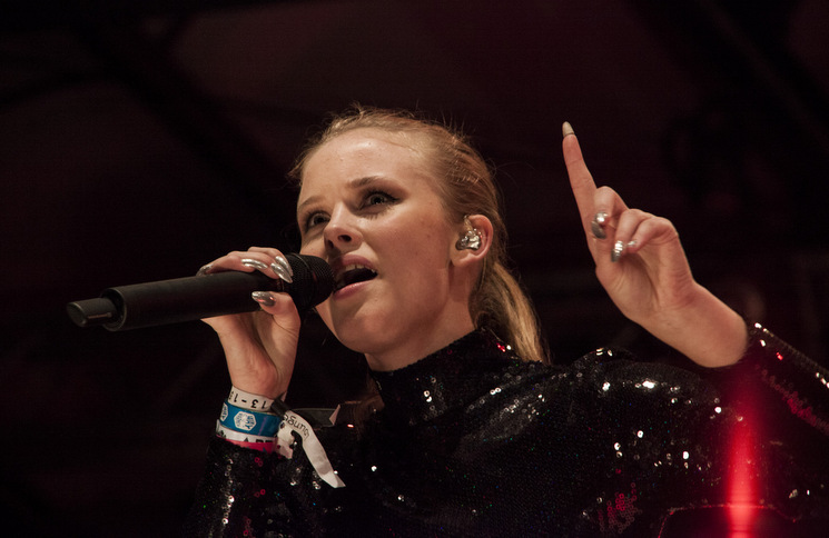 Zara Larsson at the Stockholm Culture Festival
