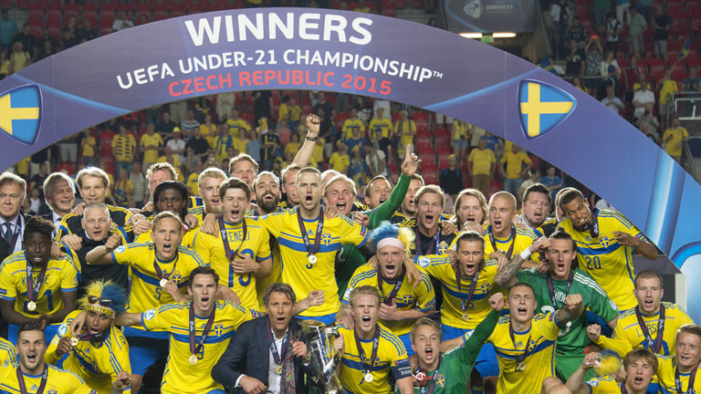 Sweden won the European U21 Championship