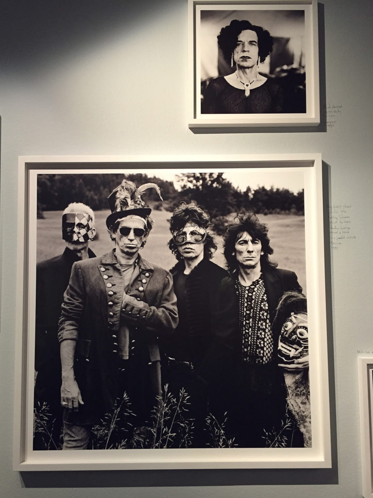 Anton Corbijn sharing time-with The Rolling Stones during the Voodoo Lounge tour shoot outside Toronto 1994