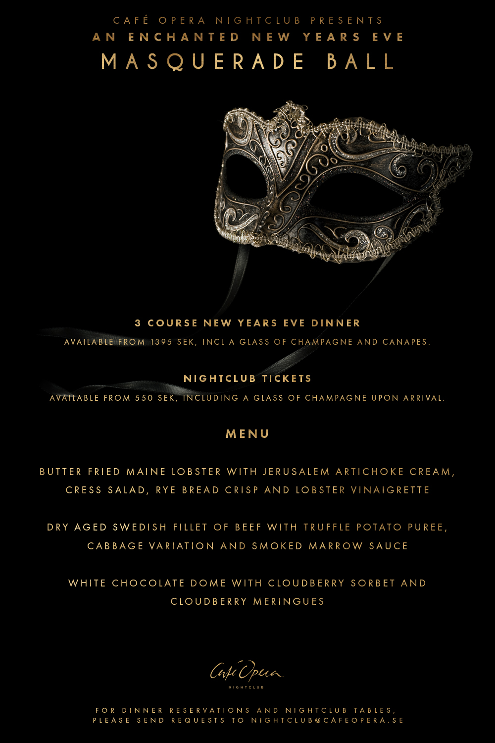 new years eve masquerade at caf opera