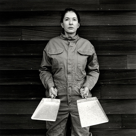 Marina Abramovi_The Cleaner B&W PhotographPhoto: © Marco Anelli Courtesy of the Marina Abramovi_ Archives**Confirming Year/ Credit