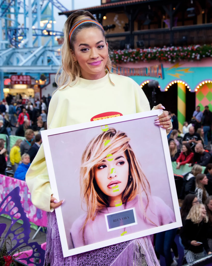 Rita was also handed a Swedish gold record for Your Song