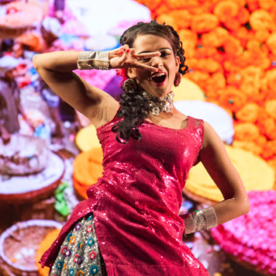 The colorful Bollywood aesthetic and the classic Bollywood hit songs made the musical a success.