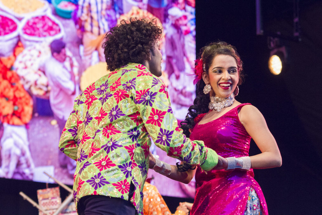 The inauguration continued with the first show of Love Story - a Bollywood Musical