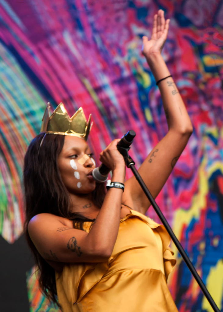 Joy packs a fiery punch and fierce rhythms in her brand of hip hop