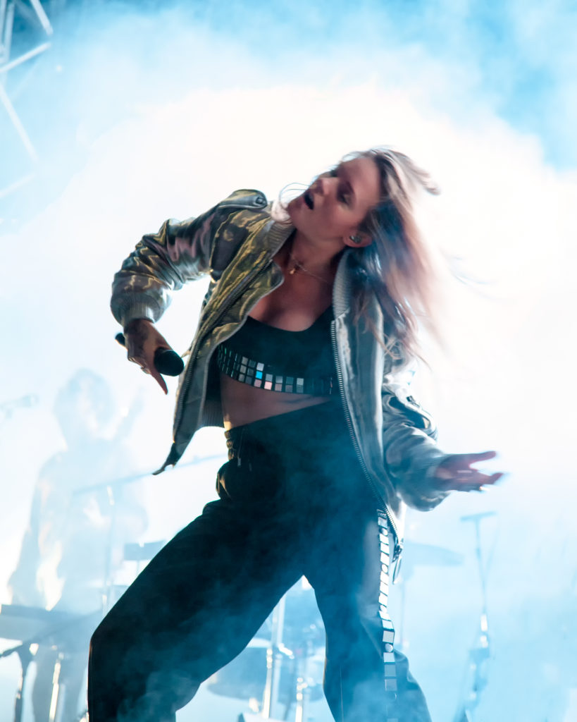 One of Sweden's biggest popstars Tove Lo ended the festival with a cavalcade of her international hits
