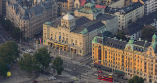 nybroplan stockholm dramaten dramatic theatre sweden visit tourist Virtual Tour Nybroplan and the Raoul Wallenberg Square